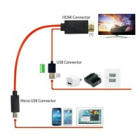 Kabel Micro Usb (MHL)To Hdmi
