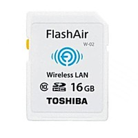 Toshiba Flash Air SD Memory Card WIFI Class 10 - 16GB