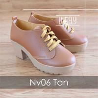 Jual Sepatu Wanita Cewek Nv06 Sepatu Wedges Boots Wanita Platform Murah