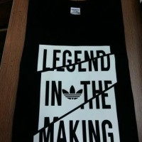 Jual KAOS GILDAN ADIDAS LEGEND IN THE MAKING Murah