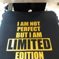 Jual KAOS GILDAN I AM NOT PERFECT BUT I AM LIMITED EDITION Murah