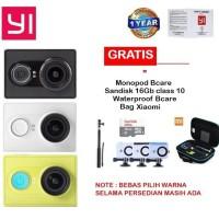 Jual Xiaomi Yi Action Camera Sandisk 16Gb Monopod Waterproof Bag Murah