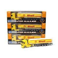 Diecast Truck Super Hauler Tanki Shell 1:87 Welly Nex - Truck Die Cast