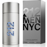 original parfum Carolina Herrera 212 Men NYC 100ml edt