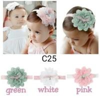bando bunga headband bayi dan anak