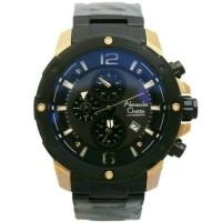 Jual  jam tangan Alexandre Christie ac 6410 black rose gold Murah