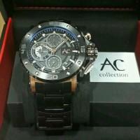 Jual  jam tangan alexandre christie ac 9205 black rose gold Murah