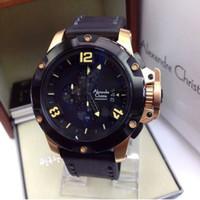 Jual jam tangan Alexandre Christiie.6295riw Black Gold Murah