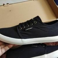 Diskon Besar Sepatu Casual Sneakers Skateboarding AIRWALK Calvin Black