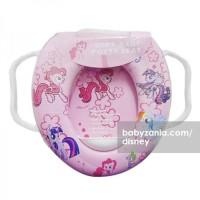 Jual  Disney Soft Baby Potty Seat Ring Closet with Handles  Little T2909 Murah
