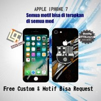 Garskin HP Apple Iphone 7 Series motif BarcelonaFC - motif bisa reques