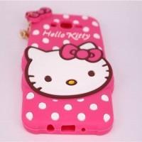Jual TERLARIS ! Case 4 Hello Kitty Cuties Samsung Galaxy J5 J500 2015 Kara  Murah
