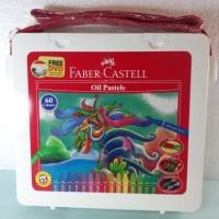 Jual Crayon / Oil Pastel Faber-Castell 60 Colours Bag Murah