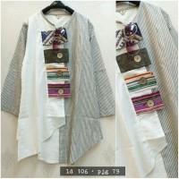 baju blouse blus kombinasi katun bangkok nov