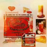 Thaitea Thai Tea Number One Brand Cha TraMue GOJEK ON Thailand 400gr