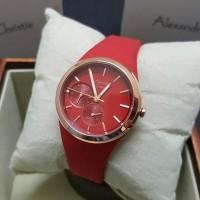Jam Tangan Wanita Alexandre Christie AC2663 Red Original