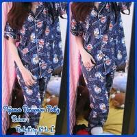 Jual Pajamas Doraemon Dotty Navy CP Murah