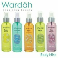 Harga Wardah Body Mist Travelbon.com