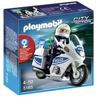 PLAYMOBIL CITY ACTION POLICE 5185 not lego police swat