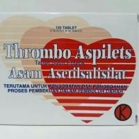 Thrombo Aspilet PROMO Harga per lembar 30 Tablet