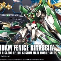 Bandai Original HG HGBF 1/144 Gundam Wing Fenice Rinascita