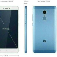 Hp Xiomi Redmi note 4X(xiaomi MI note 4 X) Ram3/32GB -Blue/Biru