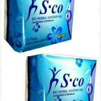 Jual pembalut herbal day use sco 1 bungkus Day Use isi 10 pad Murah