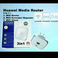 Jual huawei media router WS 322 3 in 1 wifi repearter extender router clien Murah