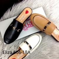 Sepatu Wanita Casually Leather Slipper
