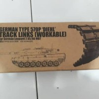 Jual 1/35 track link workable leopard 2a5 / 2a6
