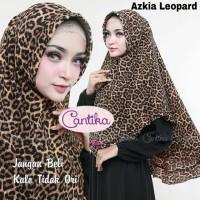 Jual Khimar Azkia Leopard Pet Antem Murah