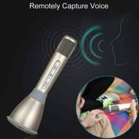 Microphone karaoke k068 bluetooth mic wireless portable sing smule