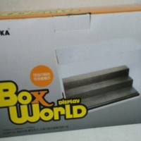 BOX display world mika3 tingkat