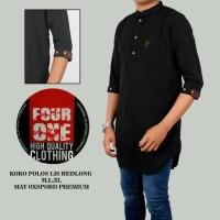 baju koko pakistan Quarta pakistan warna hitam merk four one e695f20c49