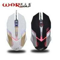 MOUSE GAMING WARWOLF T-1 WARNA HITAM/GAMING MOUSE/MOUSE/WARWOLF