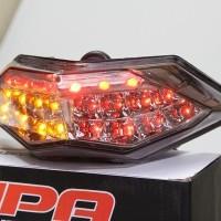 Lampu Stop + Sen Led Ninja 250 Fi / Z250