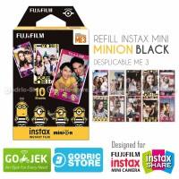Jual Fujifilm Refill Instax Mini Film Minion Black Despicable Me 10 Lembar Murah