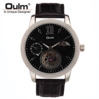 Jual Oulm Jam Tangan Analog - HP3682 - Black/Black  Murah