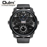 Jual Oulm Jam Tangan Analog - HP3749 - Black Blue  Murah