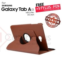 Rotating Leather Case Cover - Samsung Galaxy Tab A 10.1 2016 P580 P585