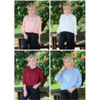 Jual Shiren blouse - Bahan twiscone fit to L 1BG Murah