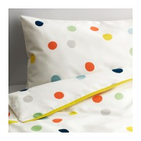 IKEA DROMLAND Cot Quilt Bed Cover+Pillow Case/Selimut+Sarung Bantal