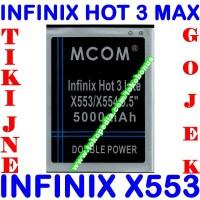 Baterai Infinix Hot 3 Max X553 MCOM M COM Batrai Batre Battery Batere