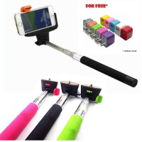 First Project KJ STAR Tongsis Monopod Bluetooth Z07-5 for iOS/Android