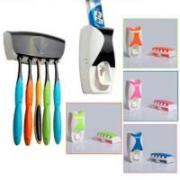 Dispenser Odol GEN 2 Toothpaste Brush Set Pasta gigi & tempat Sikat Ok