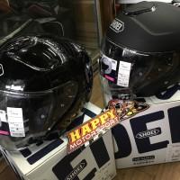 Helm shoei JCruise size M dan L black glossy dan black matt ori Japan