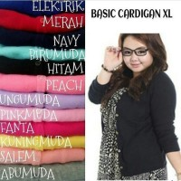 Harga cardigen xl fashion jumbo cardi size jumbo casual murah | WIKIPRICE INDONESIA