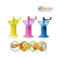 Kidsme Baby Food Grinder Pelumat Penghalus Mpasi Bayi Blender Manual