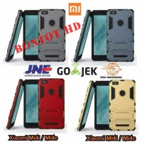 Jual Casing Xiaomi Mi4i Mi4c Back Case Cover Robot Iron Man With Standing Murah