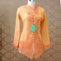 Kebaya Modern Katun Orange 655